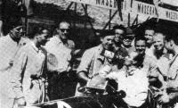 11 июня 1939 года после финиша гонок в Вене