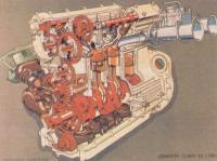 4-цилиндровый «Ковентри-Клаймекс» образца I960 года (2495 см3, 243 л. с. при 15800 об/мин)