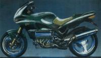 "8-мицилиндровый мотоцикл ""Морбиделли"""