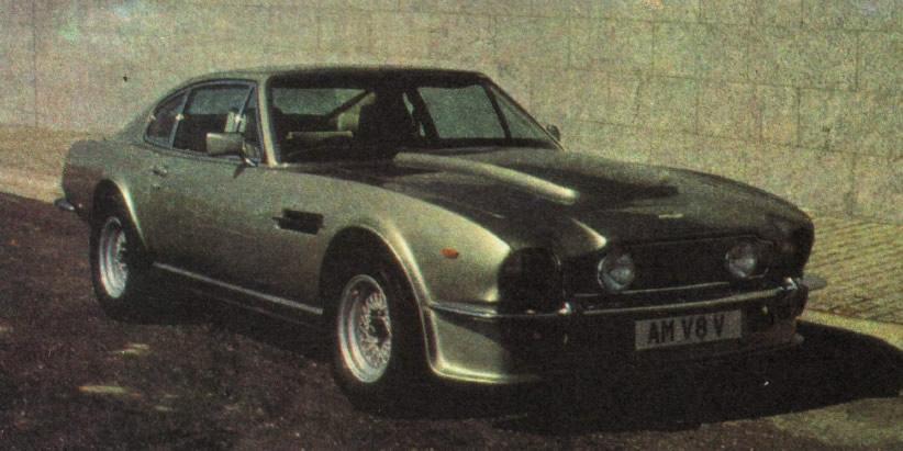 Астон-Мартин V8-вантаж