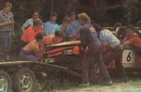 Автомобиль Бориса Маслова отправляется на списание