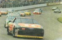 Автомобили на гонках NASCAR
