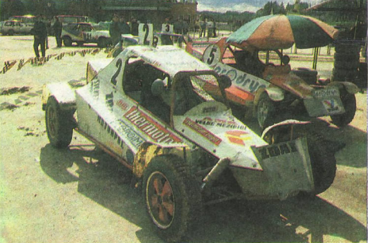 Багги с двигателем Татра