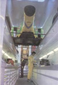 Бенеттоновская мастерская на колёсах