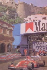 Болид Формулы 1 в Монте-Карло