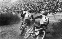 Дебют советских мотокроссменов за рубежом в 1956 году