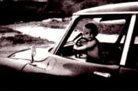 Детство а уже за рулём