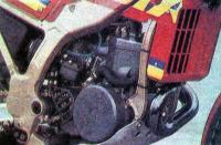 Двигатель «Беты» внешне напоминает мотор кроссового мотоцикла
