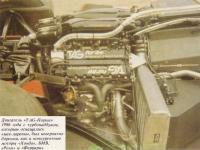 Двигатель Порше 1986-го года
