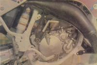 Двигатель Ямаха-YZ125