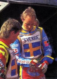 Джимми Нильсен (слева) и Пер Юнссон