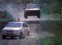Эффектные прыжки автомобилей