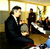 Флавио Бриаторе даёт интервью