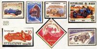 Фото почтовых марок «Бугатти»