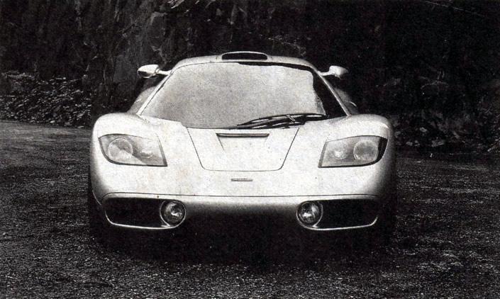 Фото спереди «Мак-Ларен-F1»