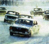 Гонки автомобилей ГАЗ-3105