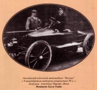 Гоночное авто Вулзли