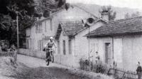 Город Лягепи на юго-западе Франции