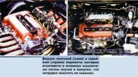 Компоновки моторов: гоночный и серийный