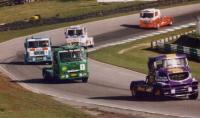 Конкуренция в классе гонок на грузовиках