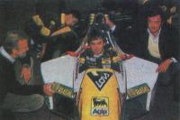 Конструктор Томмазо Карлетти, гонщик Пьерлуиджи Мартини и шеф Джанкарло Минарди