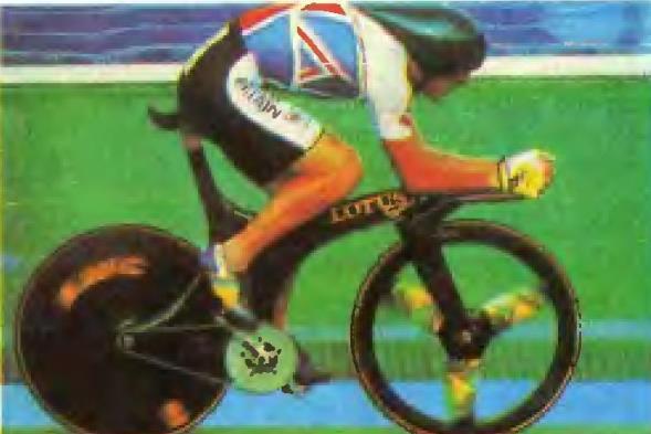 Крис Бордман на велосипеде «Лотос спорт»