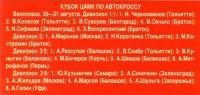 Кубок ЦАМК по автокроссу