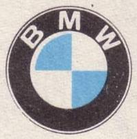 Логотип фирмы BMW