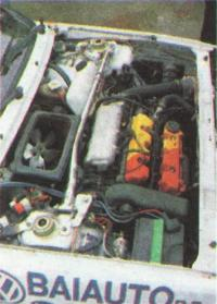 Лянча-Дельта-ХФ4ВД двигатель