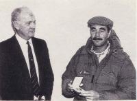 Мэнселл с Джоном Фитцпатриком