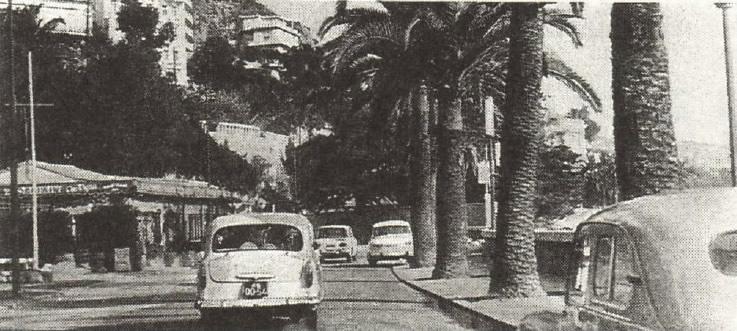 Москвич-407 под пальмами Монако