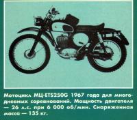 Мотоцикл для многодневных соревнований