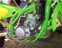 Мотоцикл с двигателем «Кавасаки»