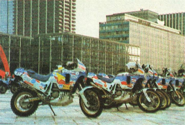 Мотоциклы участников ралли