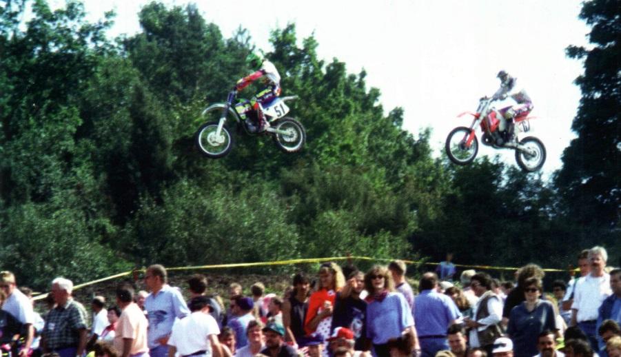 Мотокросс - такой воздушный вид спорта