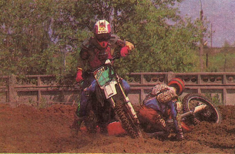 Мотокросс в Балаково
