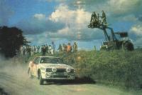 На этой «Тойоте» Канккунен одержал свою первую победу в 1985 году