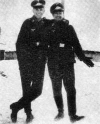 На фронте под Ленинградом