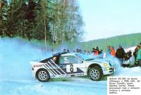 На ралли Швеции 1986 года