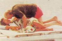 Ники Лауда и будущая гонщица Джованна Амати