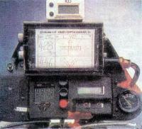 Панель измерительных и навигационных приборов