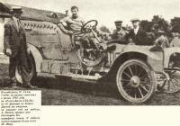 Петербуржец Н. Галль на ралли 1910 года на «Руссо-Балте-С24-30»