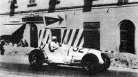 Питч за рулем «Мазерати-4CL»