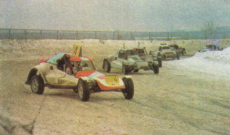 Победитель гонки Роман Колесников