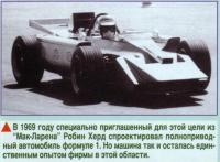 Полноприводное авто в Ф1 (1969 год)