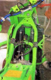 Рама мотоцикла фирмы EML