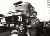 Райнхильде Браун с дочерьми