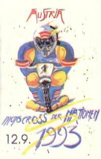 Рекламный баннер австрийского мотокросса