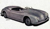 Рисунок автомобиля «Порше-356»