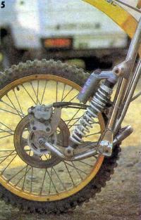 Рычажная передняя вилка мотоцикла А. Ленхерра